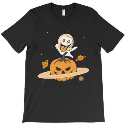 Pumpkin Planet Halloween Funny T Shirts T-shirt Designed By Hung