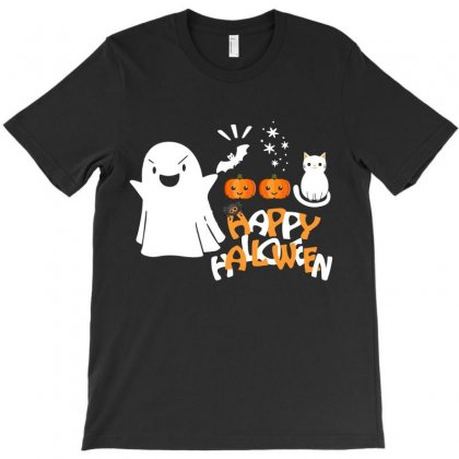 Happy Halloween Funny T Shirts T-shirt Designed By Hung