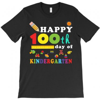 Happy 100th Day Of Kindergarten T-shirt Designed By Hung