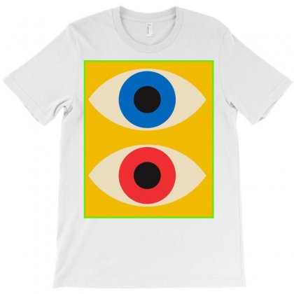 Eye 2 Eye T-shirt Designed By Amel Tharaa