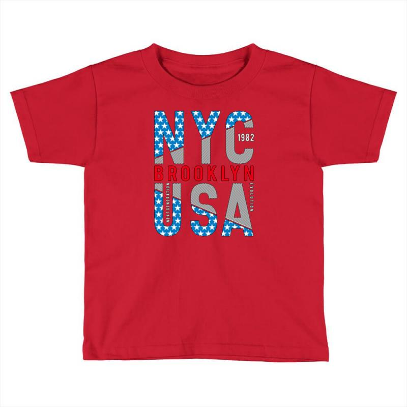 Nyc Toddler T-shirt | Artistshot