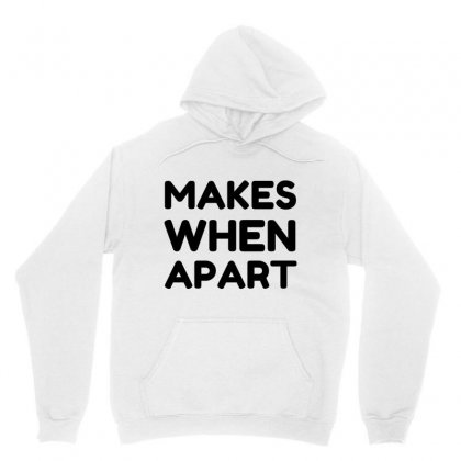 Couple Nothing Makes Sense Matching Unisex Hoodie