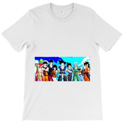 Dragon Ball Z T-shirt Designed By Vairam Dhanush