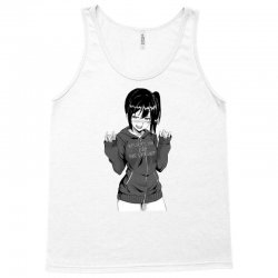 anime girl Tank Top | Artistshot