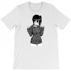 anime girl T-Shirt | Artistshot