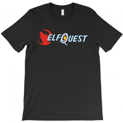 Elf Quest T-shirt Designed By Leodrolic