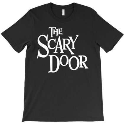 Scary Door T-shirt Designed By Leodrolic