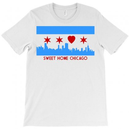 Sweet Home Chicago T-shirt Designed By Leodrolic