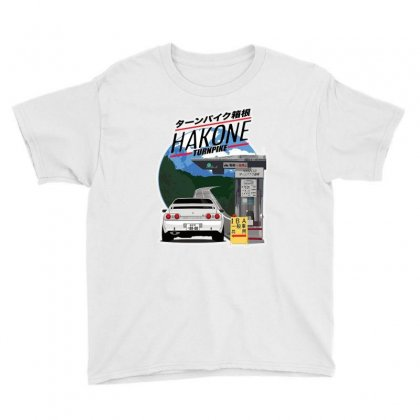 Awesome Hakone Nissan Skyline R32 Gtr Youth Tee Designed By Balqis Tees