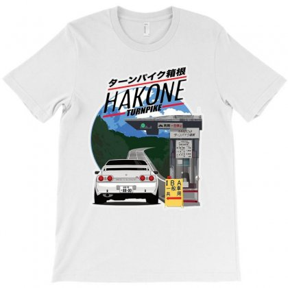 Awesome Hakone Nissan Skyline R32 Gtr T-shirt Designed By Balqis Tees