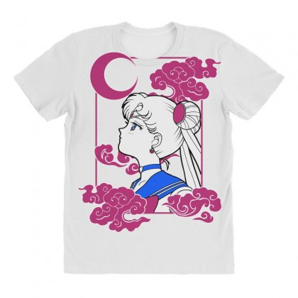 Sailor Moon All Over Women's T-shirt Designed By Paísdelasmáquinas