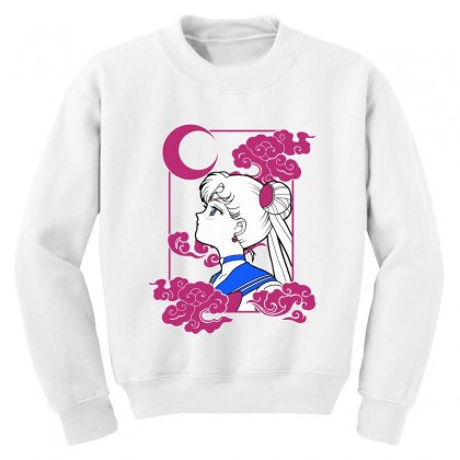 Sailor Moon Youth Sweatshirt Designed By Paísdelasmáquinas