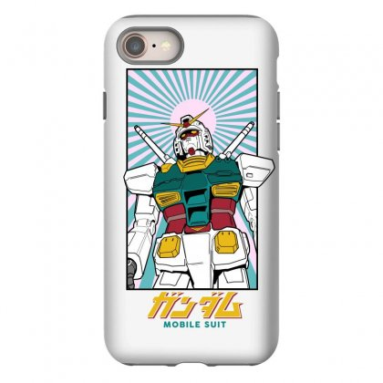 Gundam  Mobile Suit Iphone 8 Case Designed By Paísdelasmáquinas