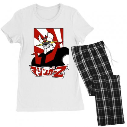 Mazinger Z Women's Pajamas Set Designed By Paísdelasmáquinas