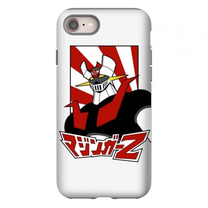 Mazinger Z Iphone 8 Case Designed By Paísdelasmáquinas