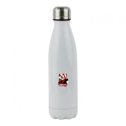 Mazinger Z Stainless Steel Water Bottle Designed By Paísdelasmáquinas