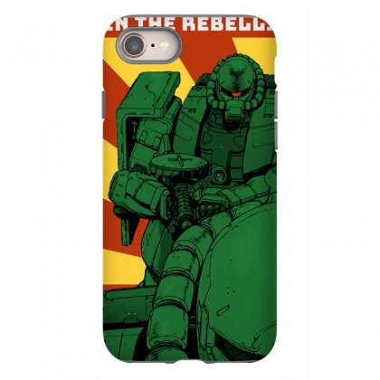 Zaku Gundam Iphone 8 Case Designed By Paísdelasmáquinas