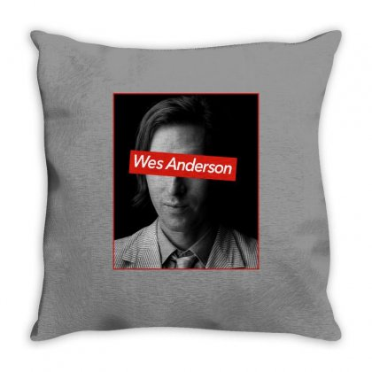 Wes Anderson Throw Pillow Designed By Sengul