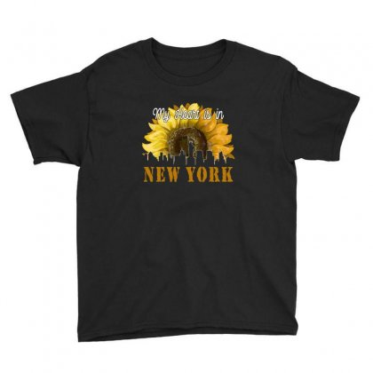 My Heart Is In New York For Dark Youth Tee Designed By Neset
