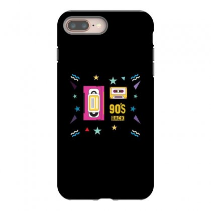 Back To 90's Iphone 8 Plus Case Designed By Emardesign