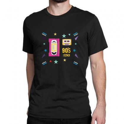 Back To 90's Classic T-shirt Designed By Emardesign