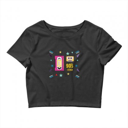 Back To 90's Crop Top Designed By Emardesign