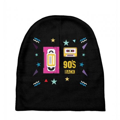 Back To 90's Baby Beanies Designed By Emardesign
