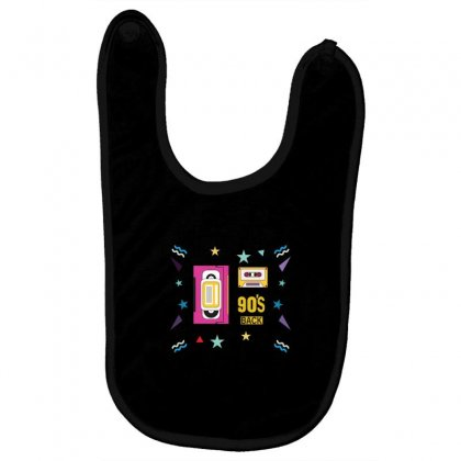 Back To 90's Baby Bibs Designed By Emardesign