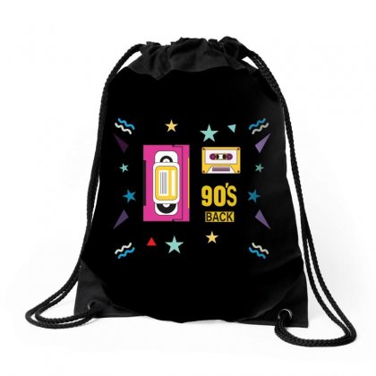 Back To 90's Drawstring Bags Designed By Emardesign