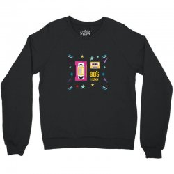 back to 90's Crewneck Sweatshirt | Artistshot