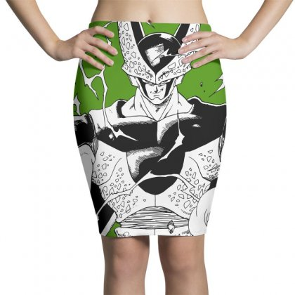Perfect Cell Pencil Skirts Designed By Paísdelasmáquinas