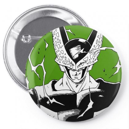 Perfect Cell Pin-back Button Designed By Paísdelasmáquinas