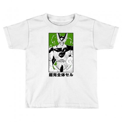 Perfect Cell Toddler T-shirt Designed By Paísdelasmáquinas