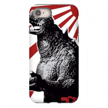 Godzilla 1 Iphone 8 Case Designed By Paísdelasmáquinas