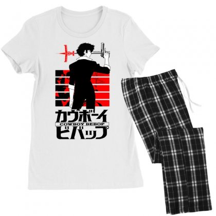 Cowboy Bebop Women's Pajamas Set Designed By Paísdelasmáquinas