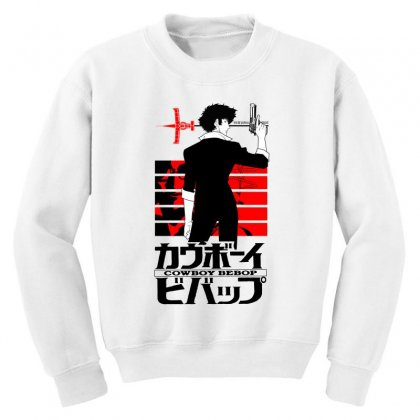 Cowboy Bebop Youth Sweatshirt Designed By Paísdelasmáquinas