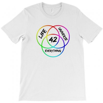42 The Answer To Life Merch T-shirt Designed By Oktaviany