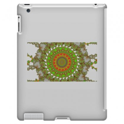 Circular Fractal Ipad 3 And 4 Case Designed By Zykkwolf