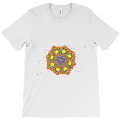 Fractal Spiral T-shirt Designed By Zykkwolf