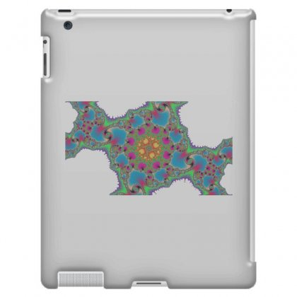 Fractal Spiral Cross Ipad 3 And 4 Case Designed By Zykkwolf
