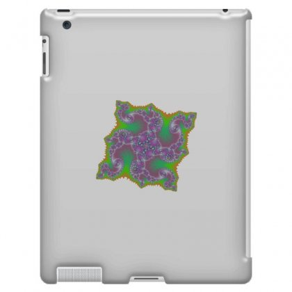 Square Fractal Spiral Ipad 3 And 4 Case Designed By Zykkwolf