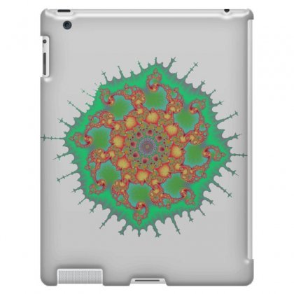 Spiral Fractal Ipad 3 And 4 Case Designed By Zykkwolf