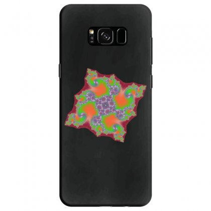 Square Fractal Spiral Samsung Galaxy S8 Case Designed By Zykkwolf