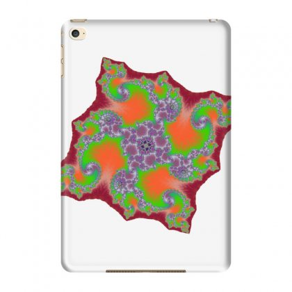 Square Fractal Spiral Ipad Mini 4 Case Designed By Zykkwolf