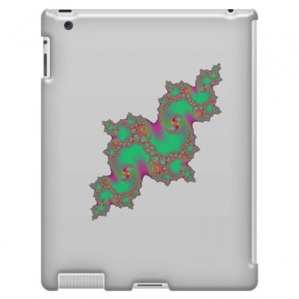 Fractal Green Cloud Ipad 3 And 4 Case Designed By Zykkwolf