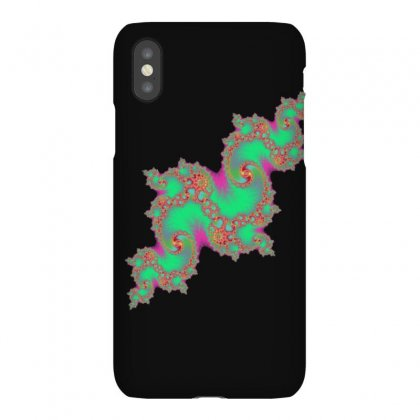 Fractal Green Cloud Iphonex Case Designed By Zykkwolf