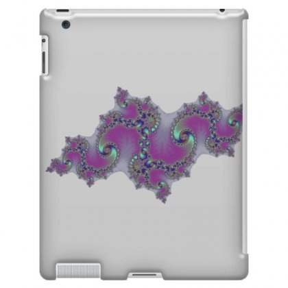 Fractal Symetrical Spiral Cloud Ipad 3 And 4 Case Designed By Zykkwolf