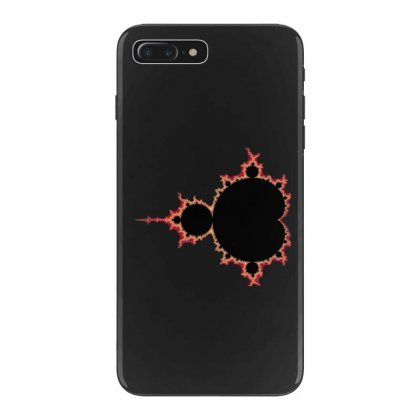Mandelbrot Fractal Red And Black Iphone 7 Plus Case Designed By Zykkwolf