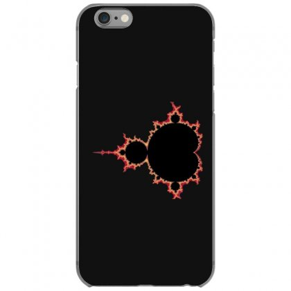 Mandelbrot Fractal Red And Black Iphone 6/6s Case Designed By Zykkwolf
