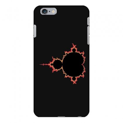 Mandelbrot Fractal Red And Black Iphone 6 Plus/6s Plus Case Designed By Zykkwolf